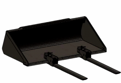 Clamp On Bucket Forks