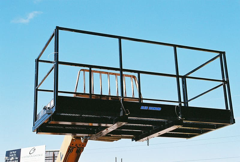 Work Platform Telehandler | Blue Diamond