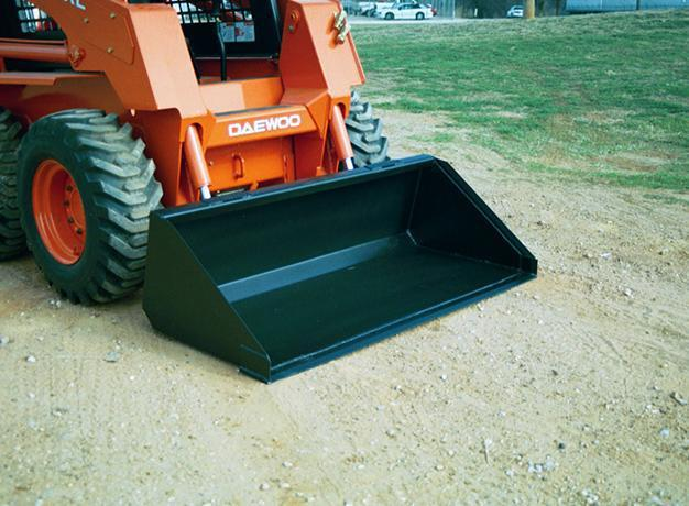 Heavy Duty Snow & Light Material Skid Steer Buckets - Star Industries Heavy Duty Snow & Light Material Bucket Star Industries