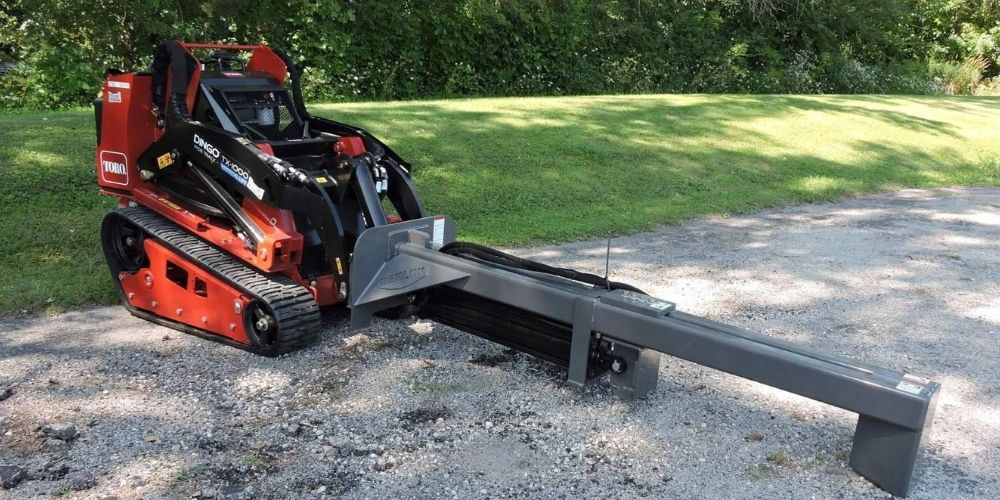 "Mini Log Splitter - Berlon Industries Mini Log Splitter Berlon Industries 20 Tonne w/ 24"" Log Capacity"