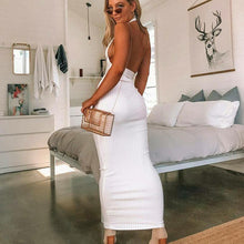 Load image into Gallery viewer, Santorini Backless Dress