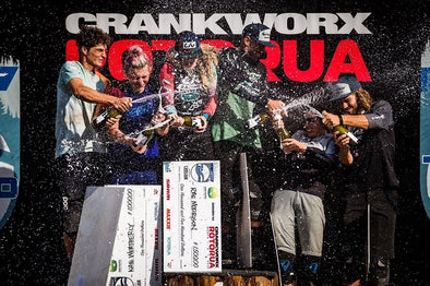 Pivot Factory Team kicks off the 2020 season at Crankworx Rotorua
