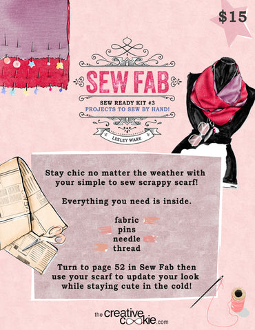 Sew Ready Kit: Scrappy Scarf