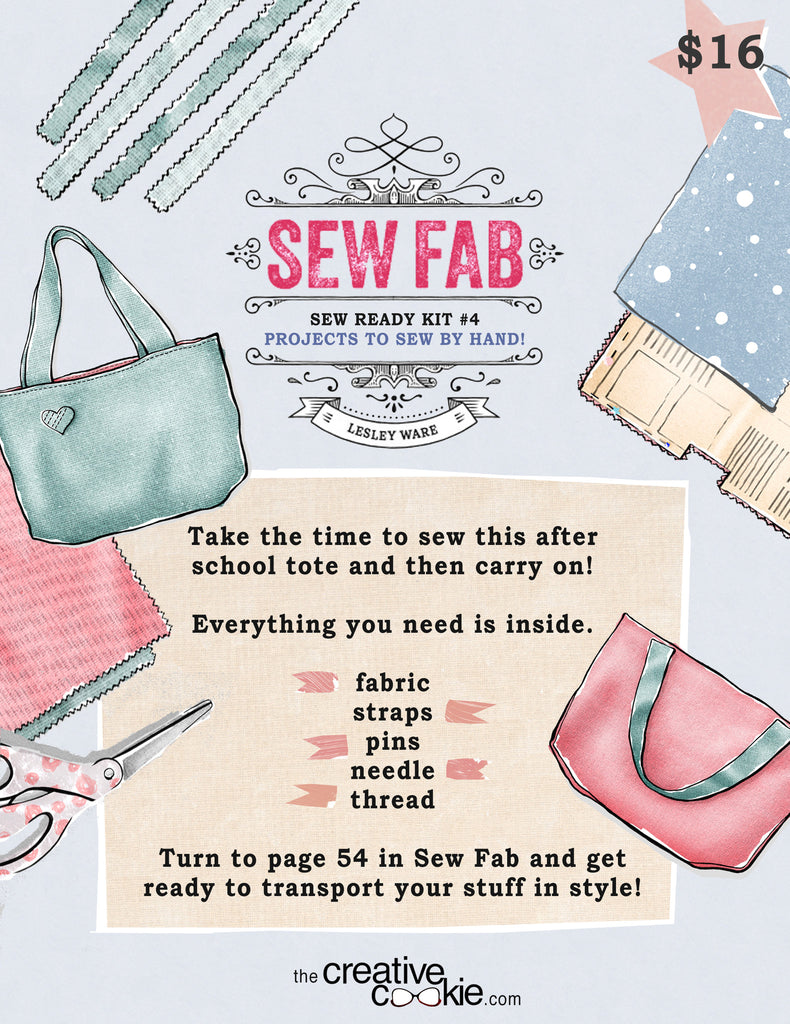 Sew Ready Kit: After School Tote