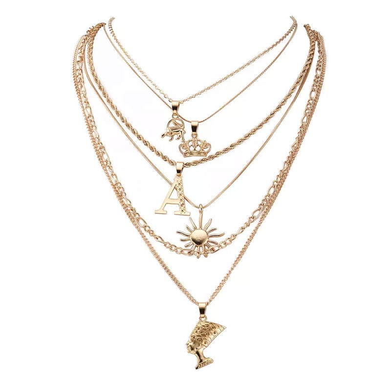 A Princess necklace gold