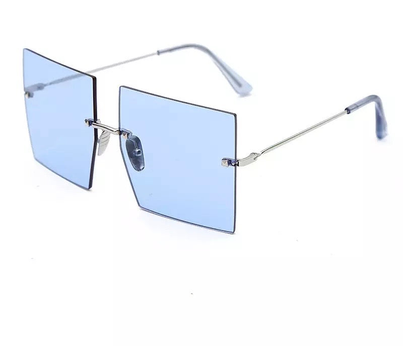 Oversized Rimless frames