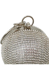 She's magical Silver evening clutch