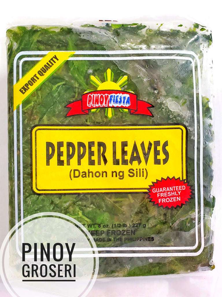 Pinoy Fiesta Pepper Leaves (Dahon ng Sili) 8oz