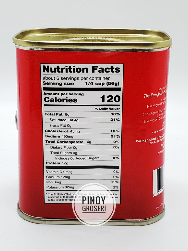 San MIguel Purefoods Corned Beef SPICY (RED TRAPEZOID) 12oz (340g)