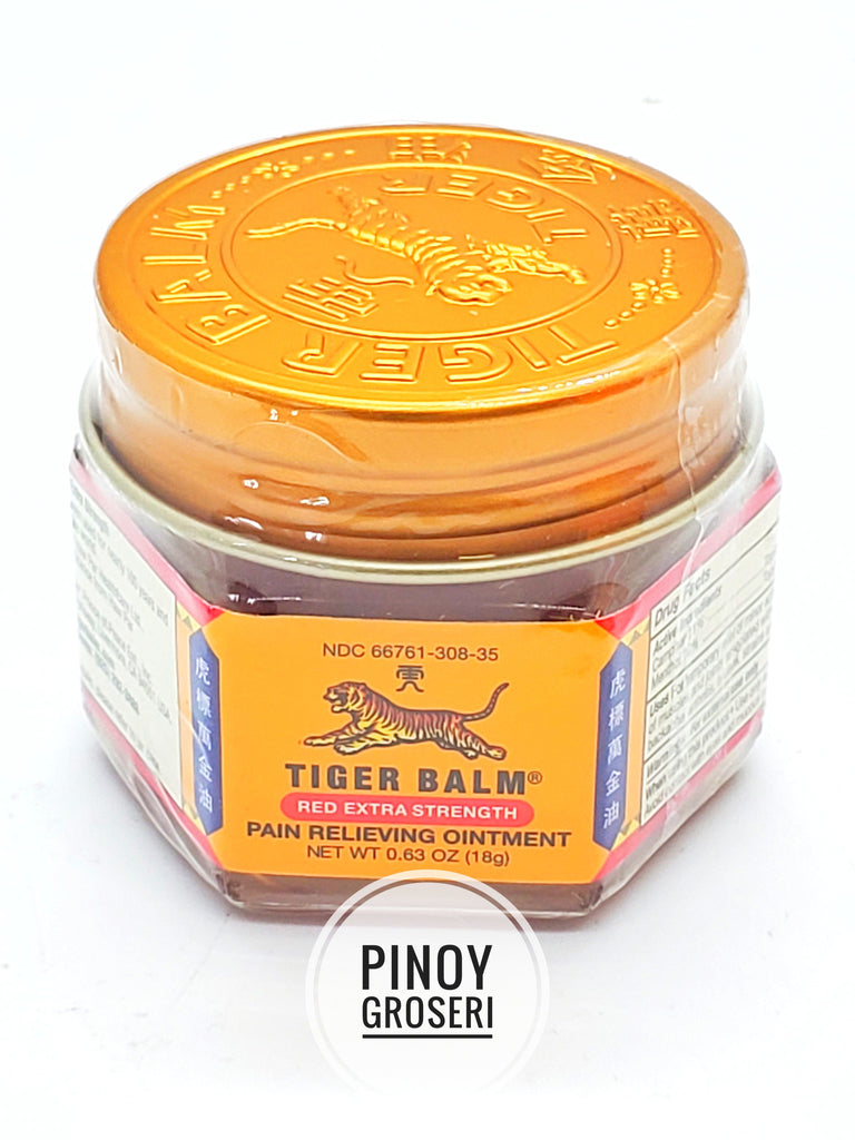 Tiger Balm Red Extra Strength 0.63oz (18g)