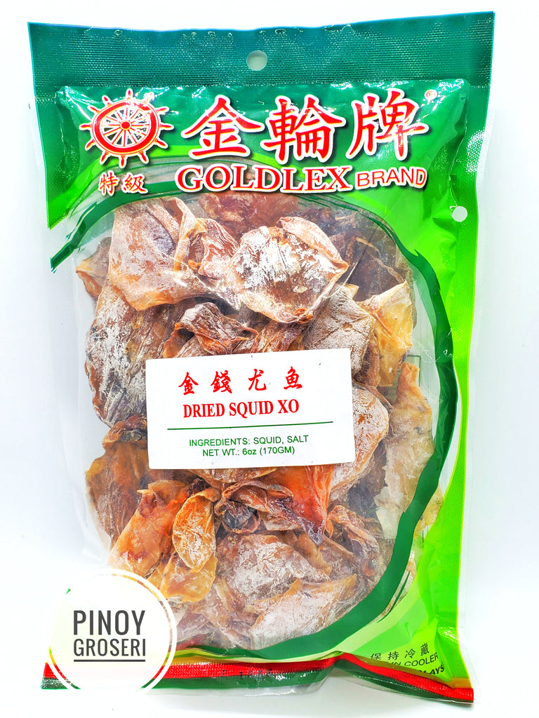 Goldex Dried Squid XO 6oz (170g)