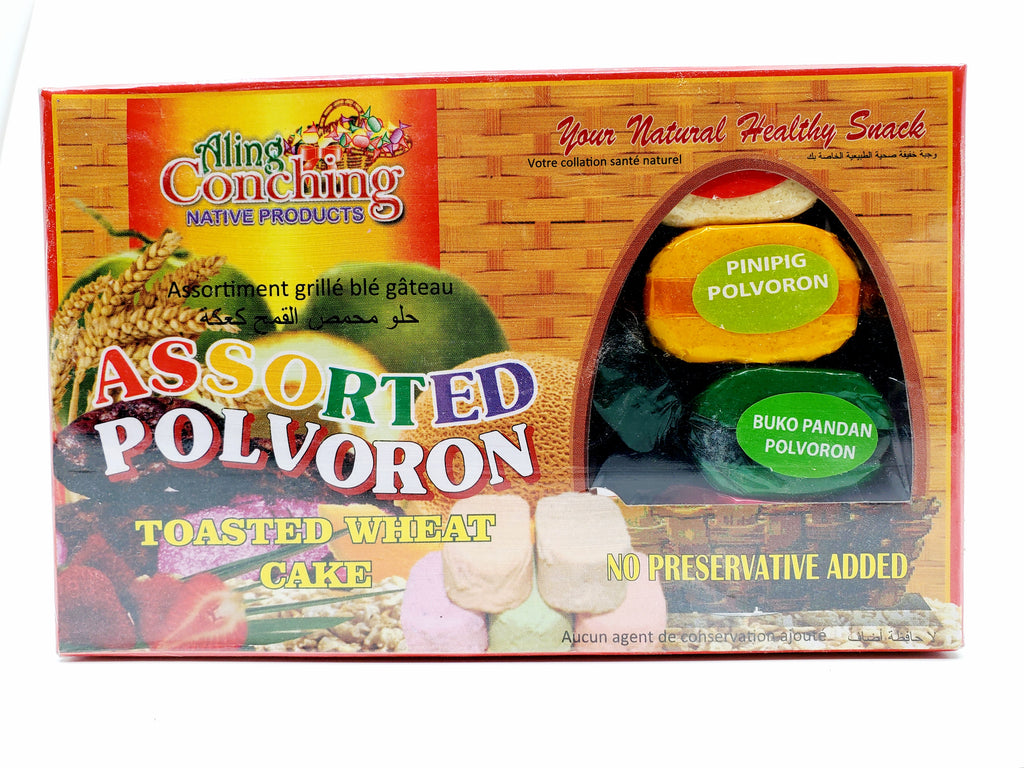 Aling Conching ASSORTED Polvoron (IN BOX) - 17.6oz (500g)