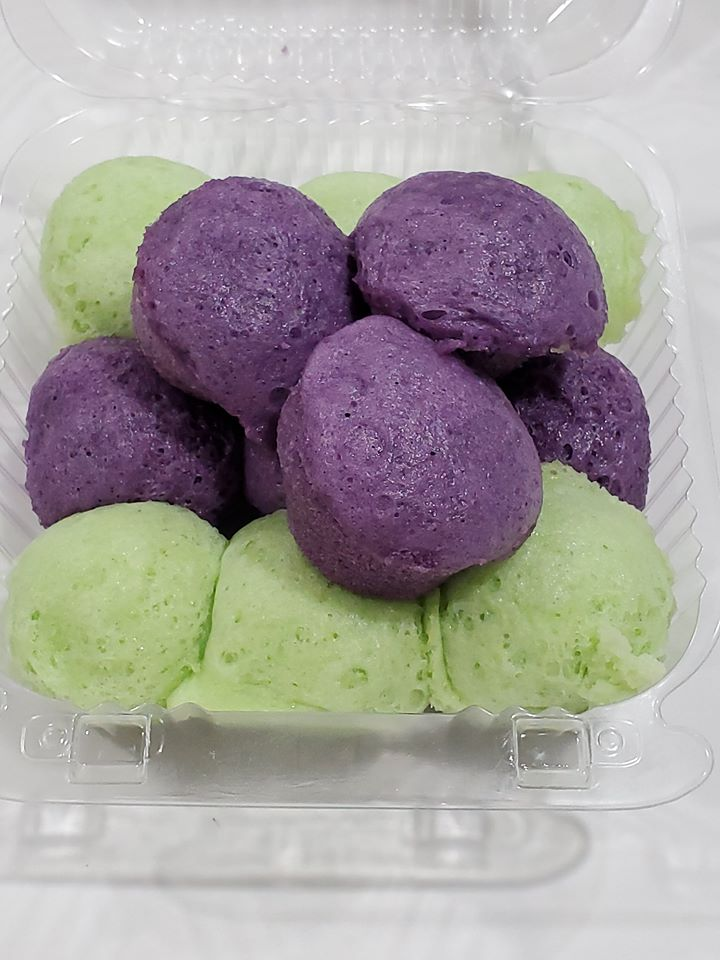 KNI - Puto Mix (Ube and Pandan)
