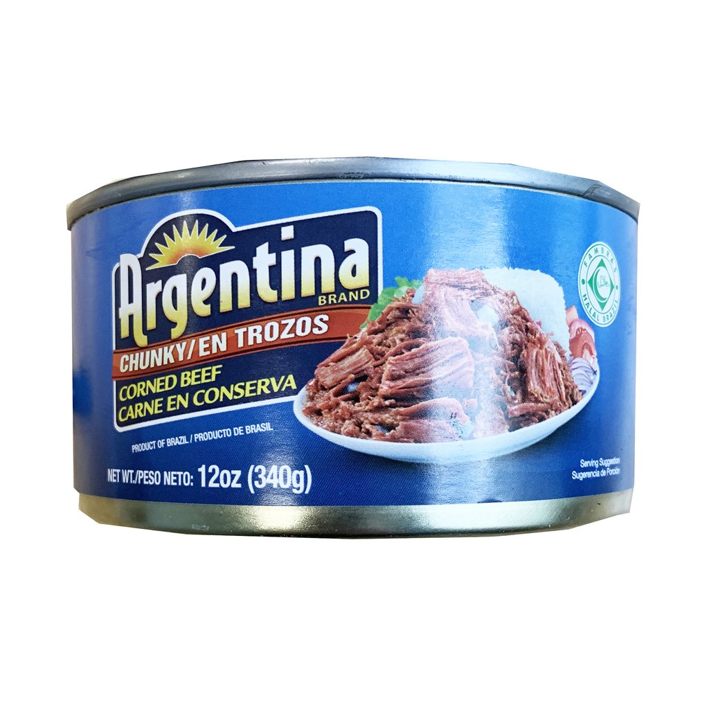 Argentina Corned Beef Chunky (Blue) 12oz (340g)