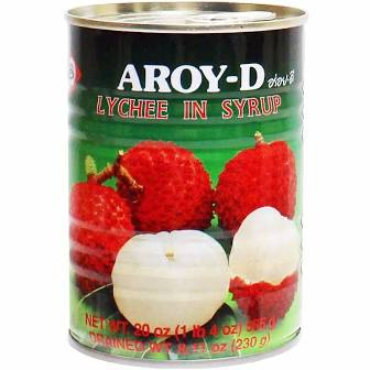 Aroy-D Canned Lychee in Syrup 20oz