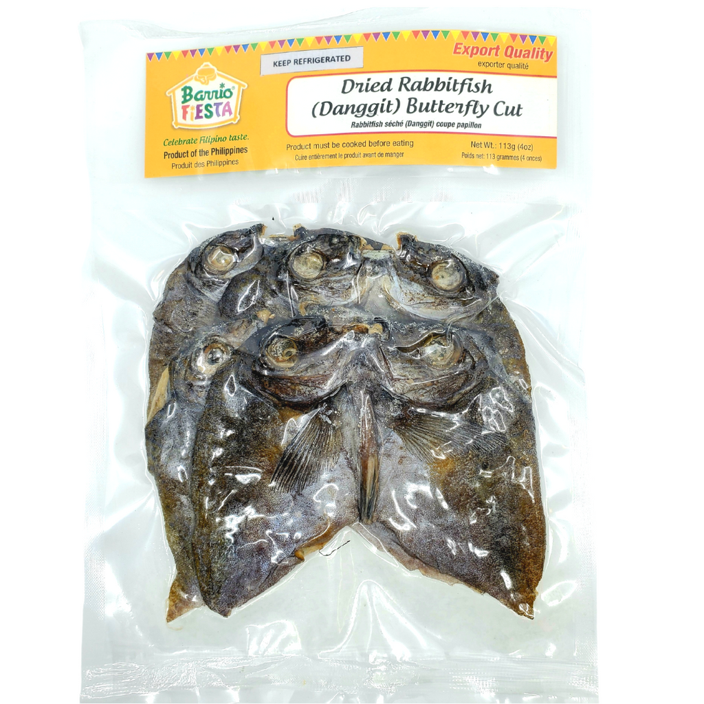 Barrio Fiesta Dried Rabbit Fish (Danggit) 4o (113g)