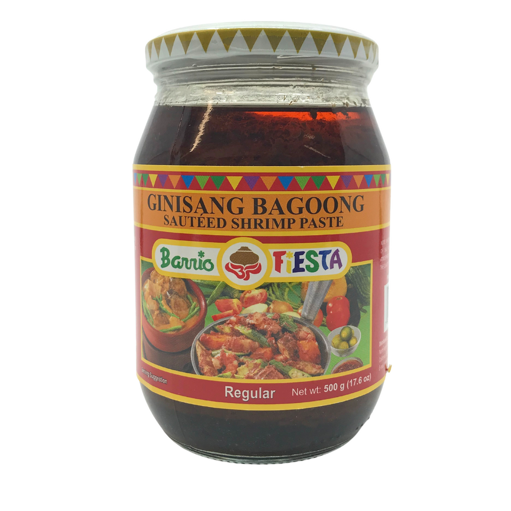 Barrio Fiesta Ginisang Bagoong REGULAR (BIG) 17.65oz (500g)