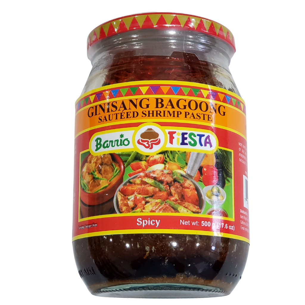 Barrio Fiesta Ginisang Bagoong SPICY 17.6oz (500g) BIG