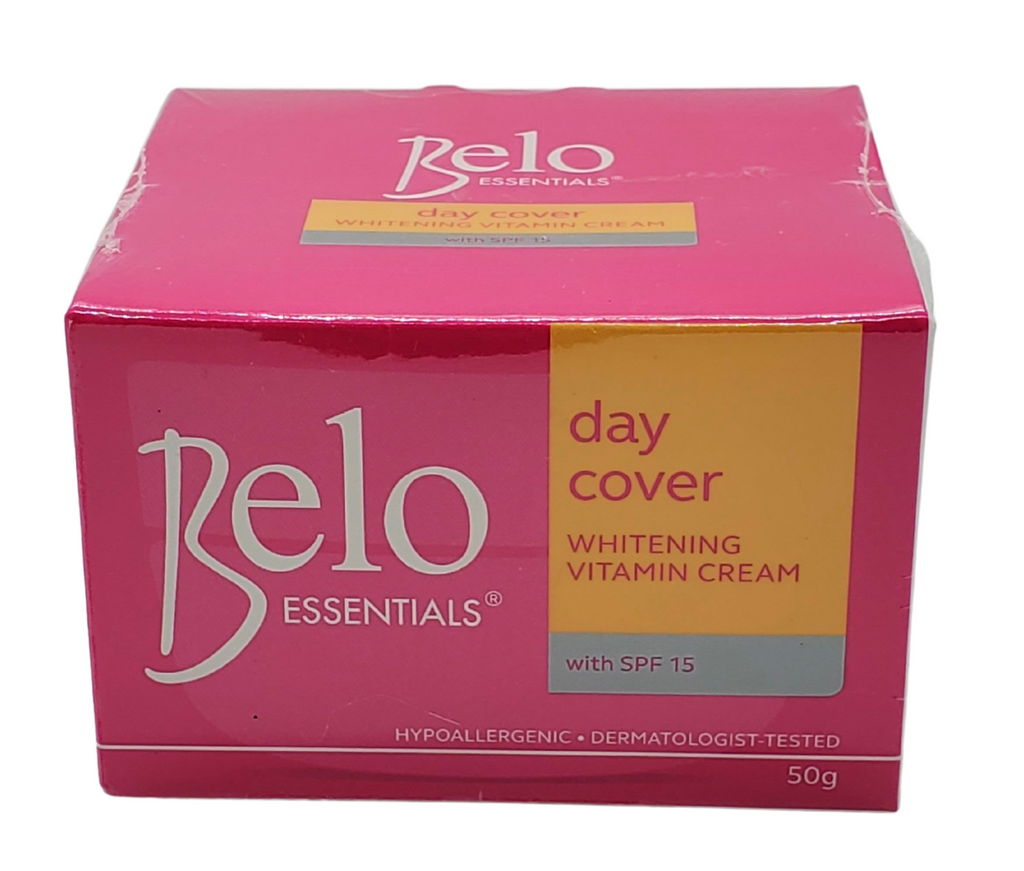 Belo Essentials Day Cover Whitening Vitamin Cream with SPF 15 (50g)