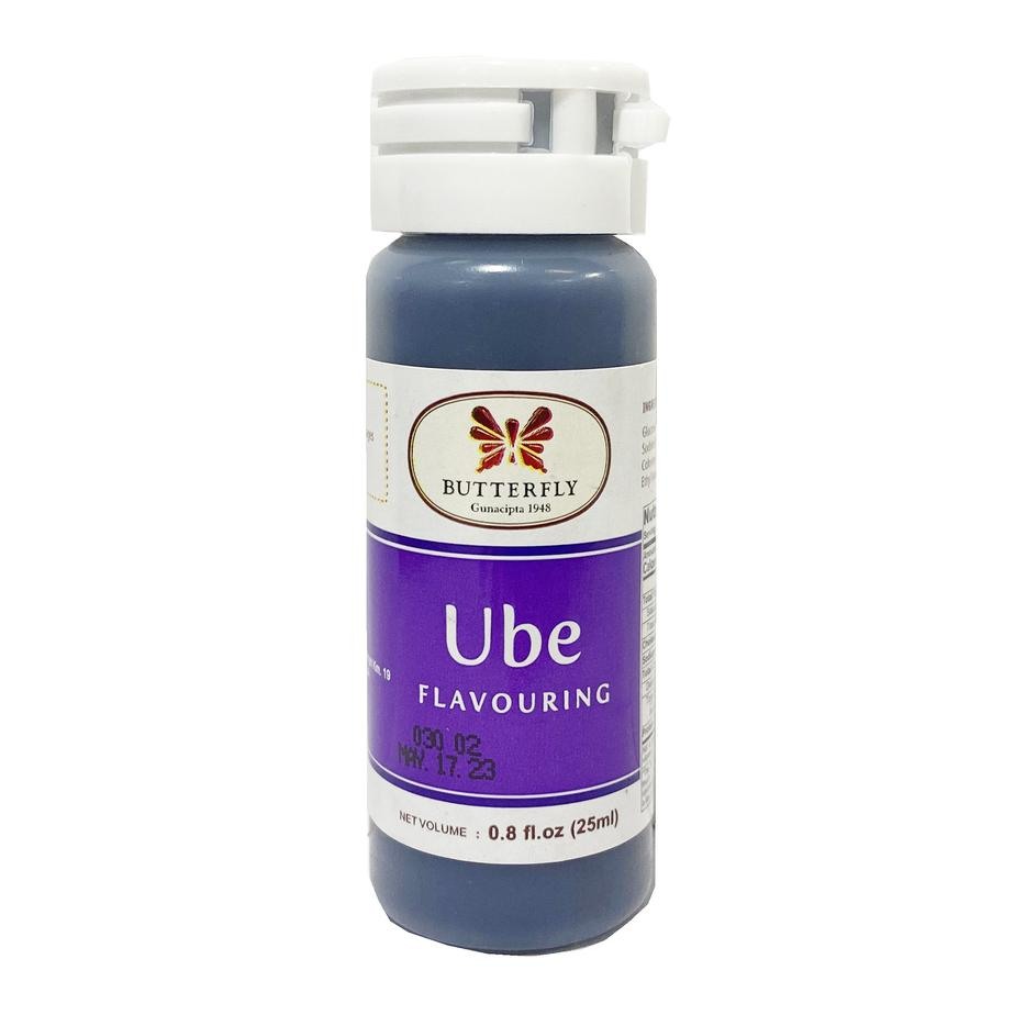 Butterfly Ube Extract (Purple Yam) SMALL 0.8oz (25ml)