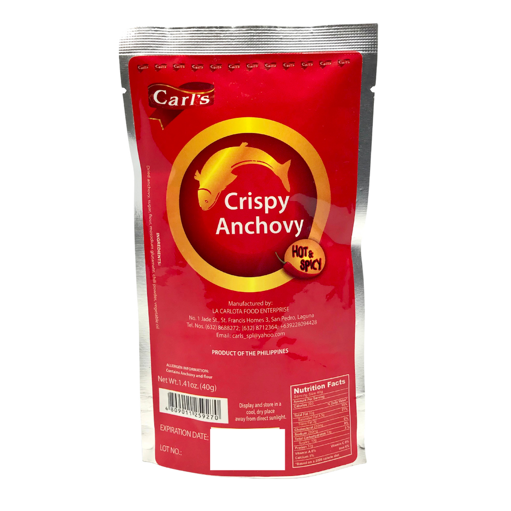 Carl's Crispy Anchovy Hot & Spicy 40g (1.41oz)