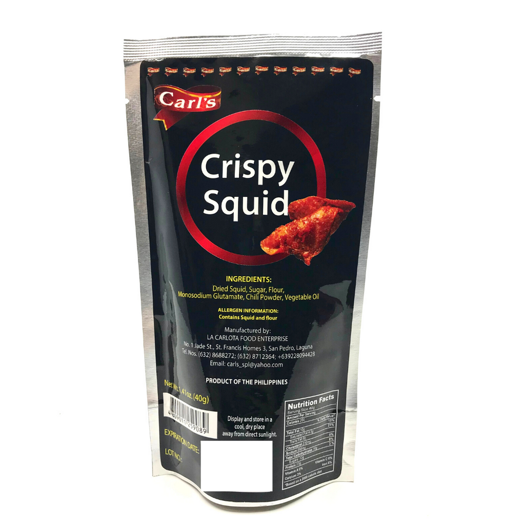 Car'ls Crispy Squid Orig 40g
