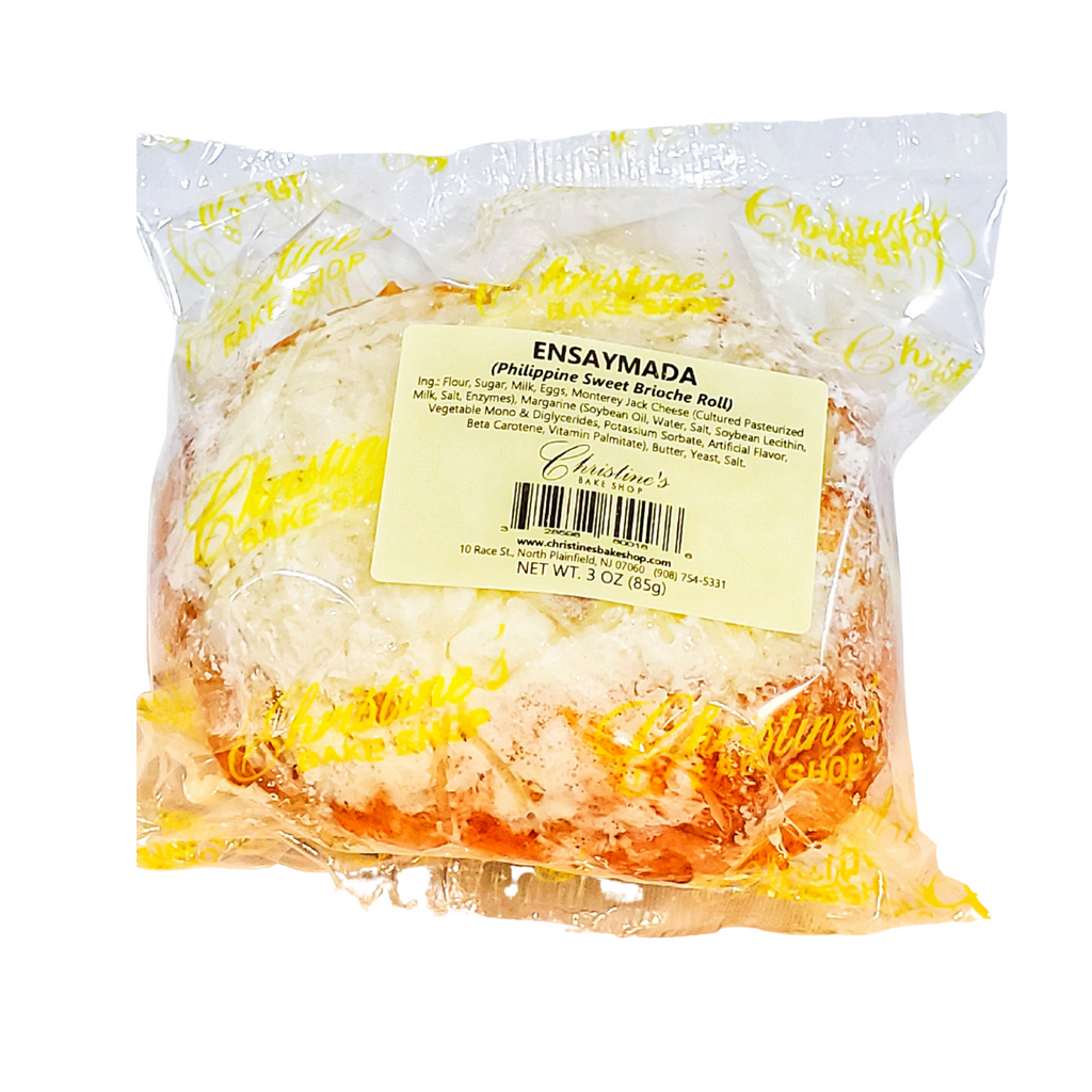 Christine's Ensaymada (Sweet Brioche Roll) Regular 3oz (85g)