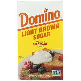 Domino Light Brown Sugar 16oz (453g)