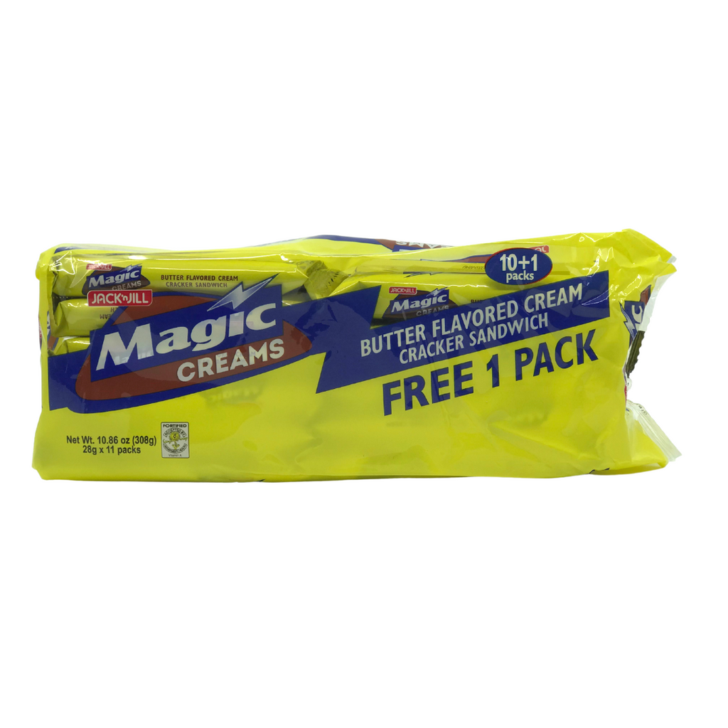 Jack and Jill Magic Creams Butter Flavored Cream 28gx11