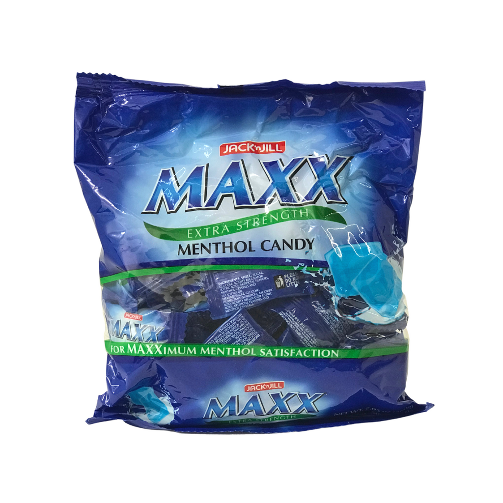 Jack and Jill Maxx Extra Strength MENTHOL Candy 200g BLUE