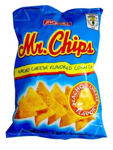 Jack and Jill Mr.Chips Nacho Cheese 3.53oz (100g)