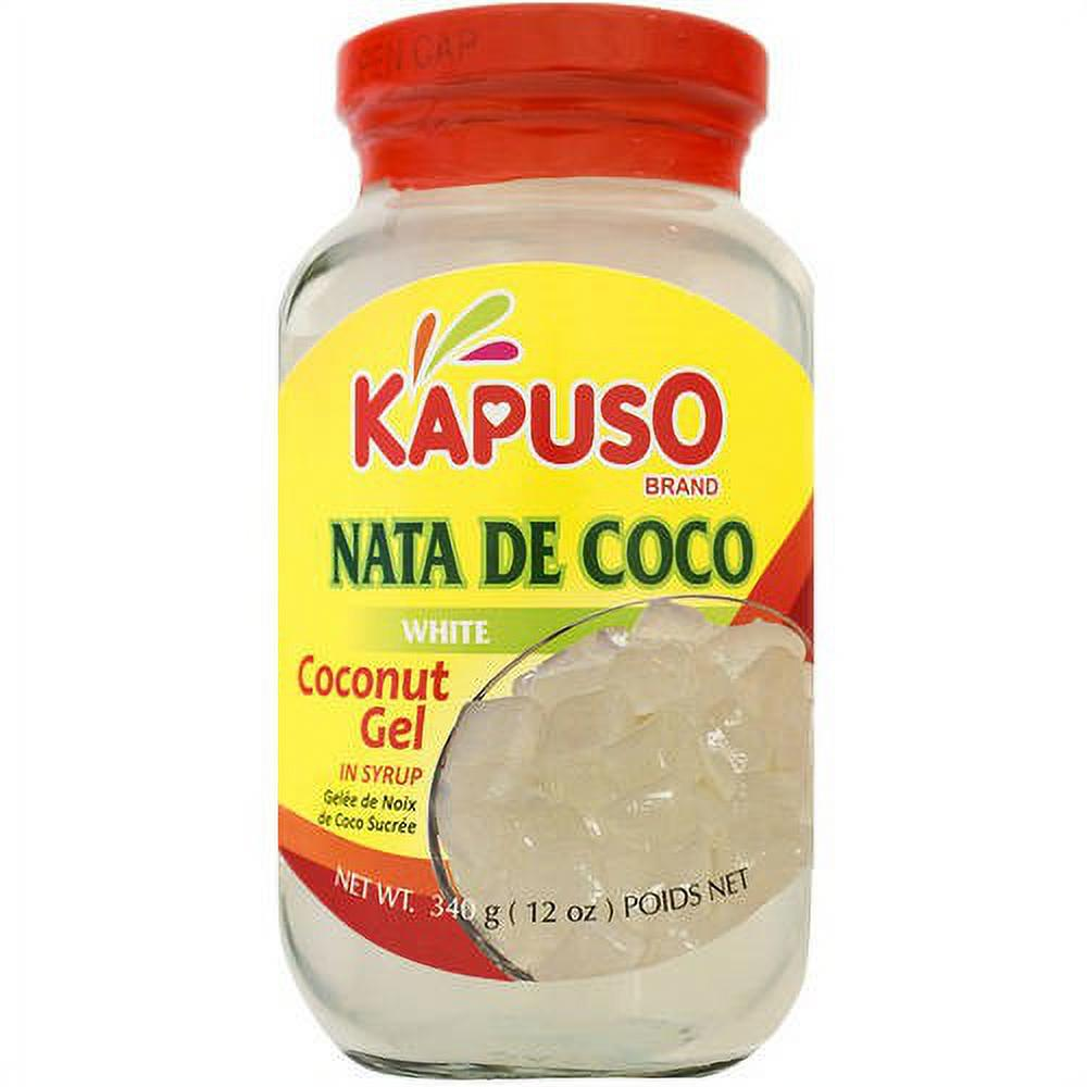 Kapuso NATA De Coco WHITE (SMALL) 12OZ (340g)