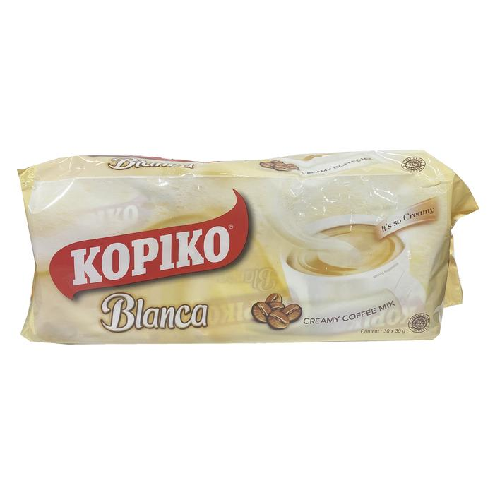 Kopiko Blanca Creamy Coffee Mix (LONG) 30x30g