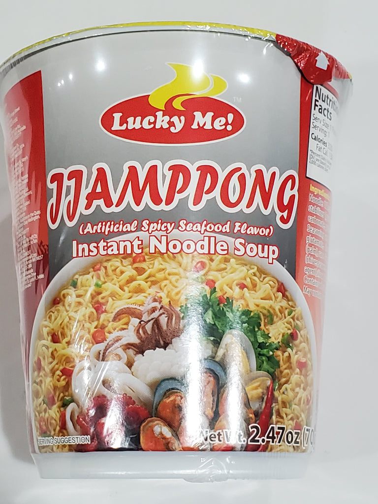 Lucky Me Instant Noodle Soup Jjampong CUP 70g