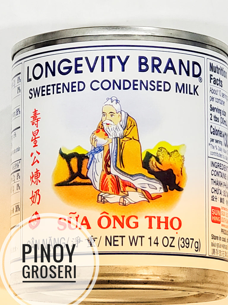 Longevity Condensed Milk 14oz (397g)