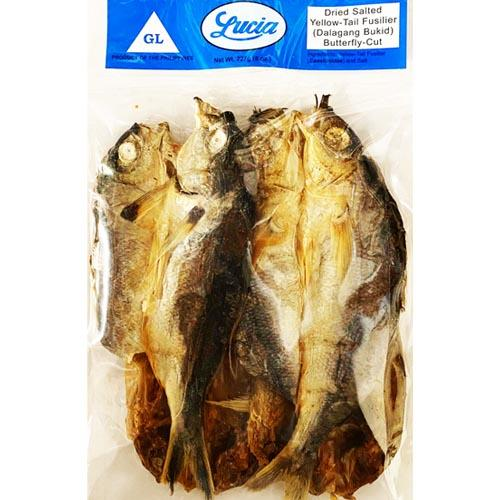 Lucia Dried Yellow Tail Fusilier Butterfly Cut (Dalagang Bukid) 8oz