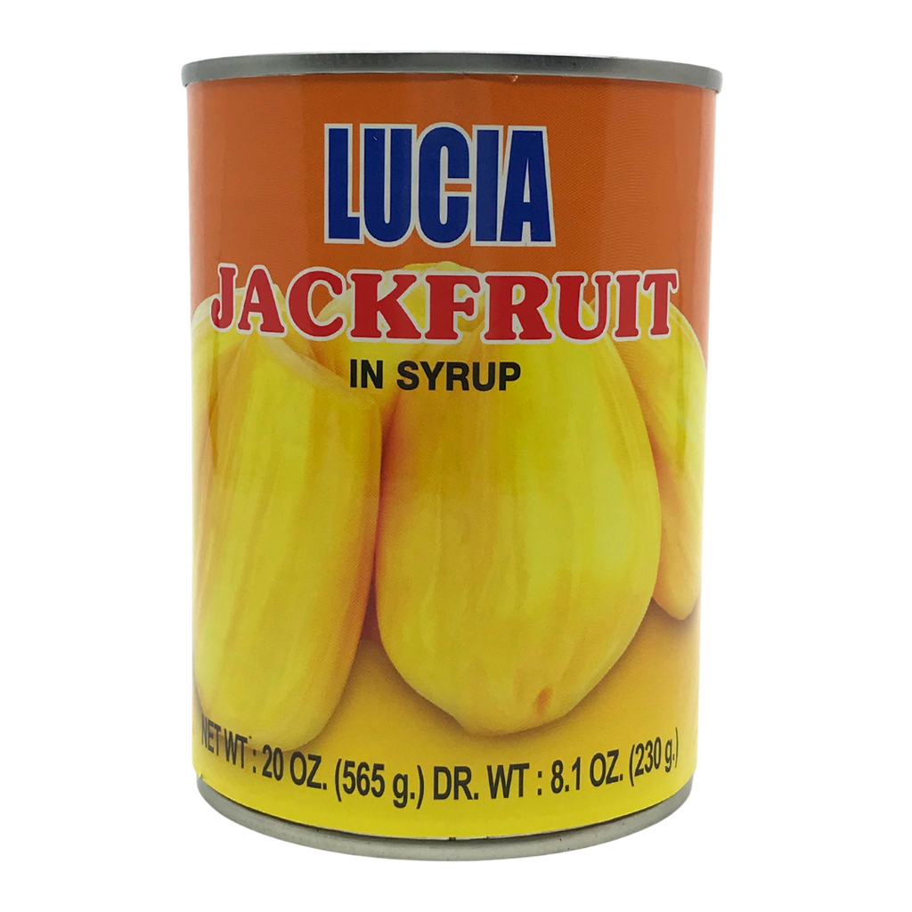 Lucia Yellow Jackfruit (Langka) in Syrup 20oz