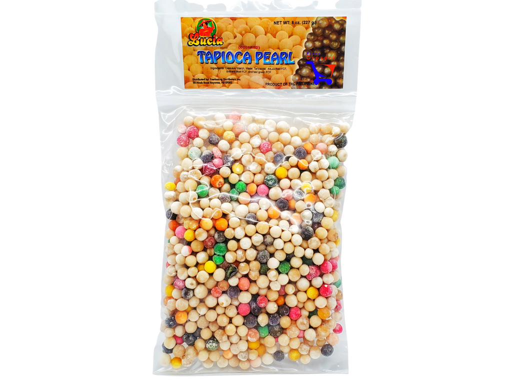 Lucia Tapioca Pearl Sago (COLORED) 8oz 227g