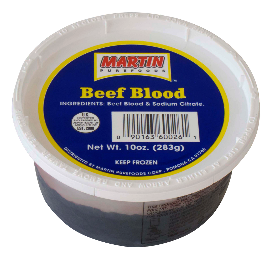 MARTIN Purefoods Beef Blood 10oz (283g)