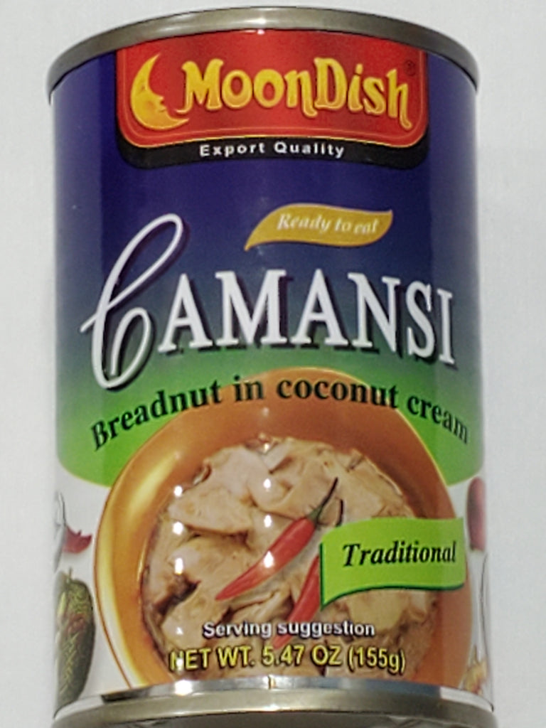 Moondish Breanut in Coconut Cream (Camansi) 5.47oz (155g)
