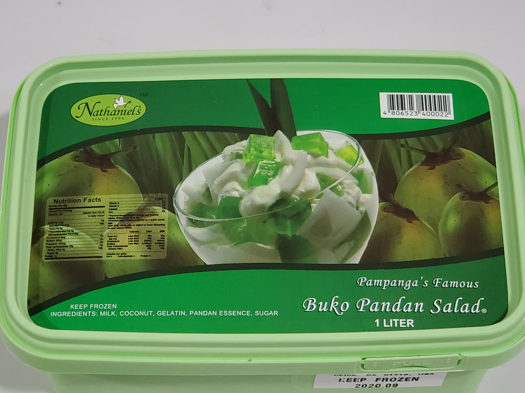 Nathaniel's Buko Pandan Salad 1L (In-store and Local Delivery only)