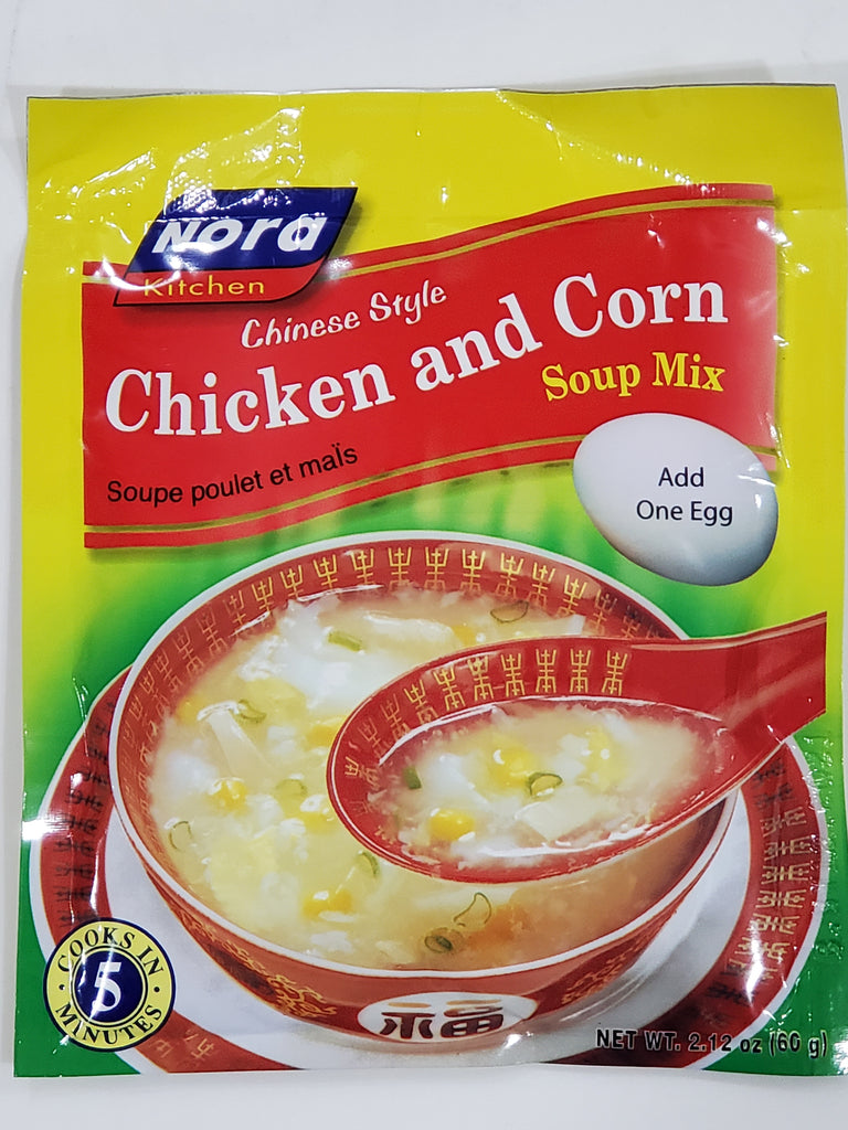 Nora Chicken and Corn Soup Mix 2.12oz (60g)