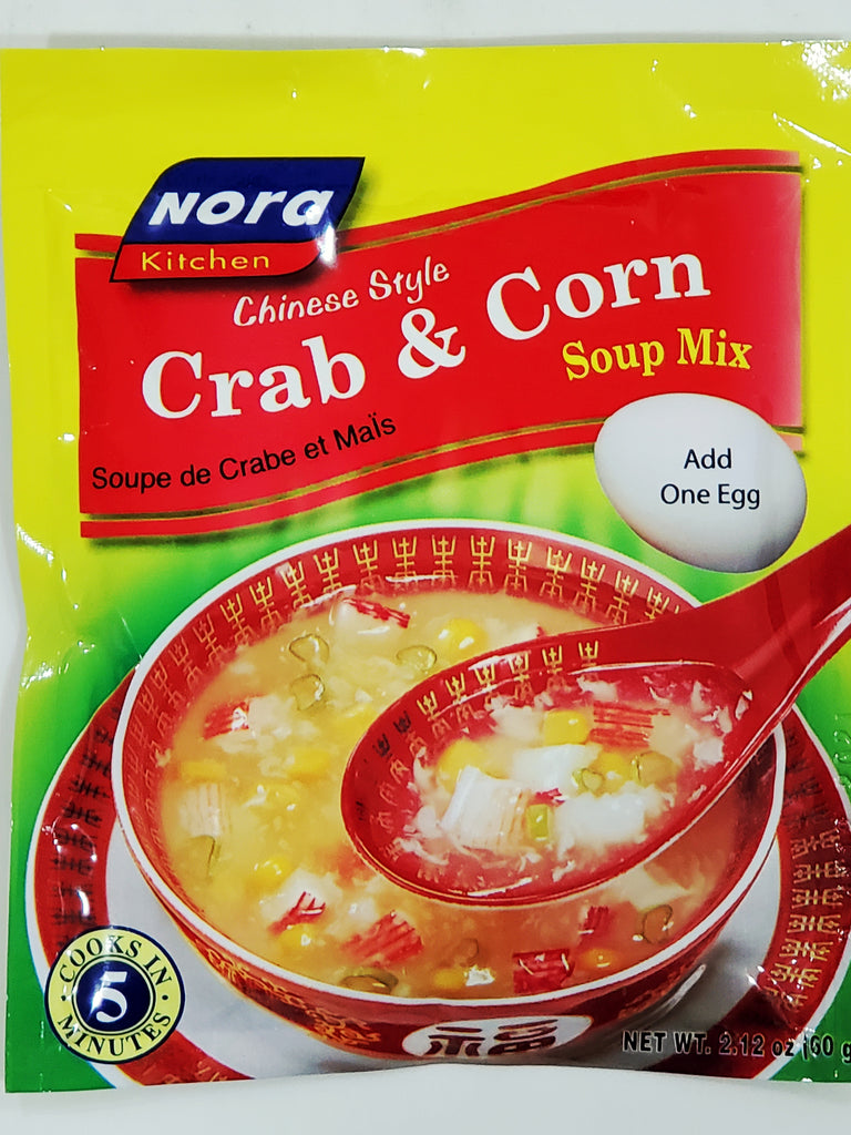 Nora Crab and Corn Soup Mix 2.12oz (90g)