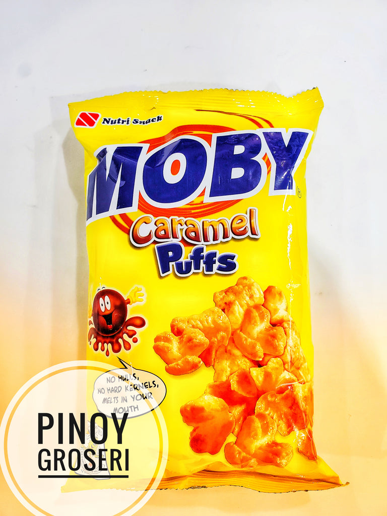 Nutri-Snack Moby Caramel Puffs 60g (Small)
