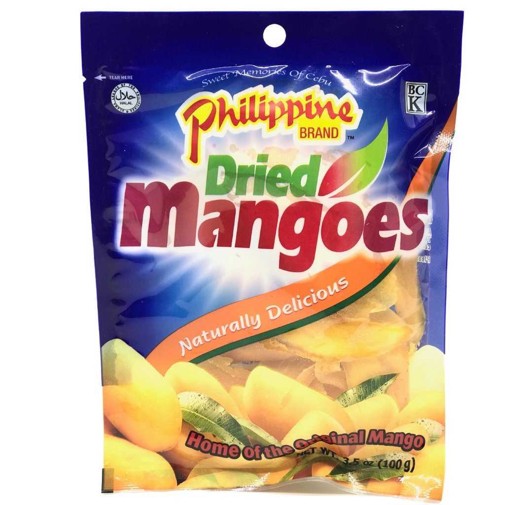 Philippine Brand Dried Mangoes 3.5oz (100g)