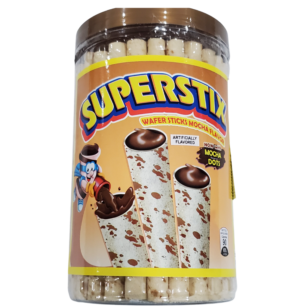 SuperStix Water Sticks Mocha Flavor 11.83oz