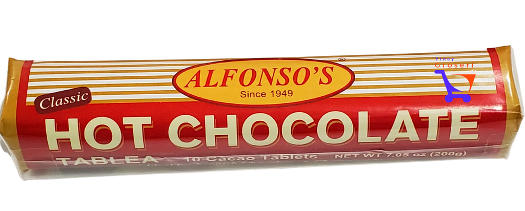 Alfonso's Hot Chocolate Tablea 200g