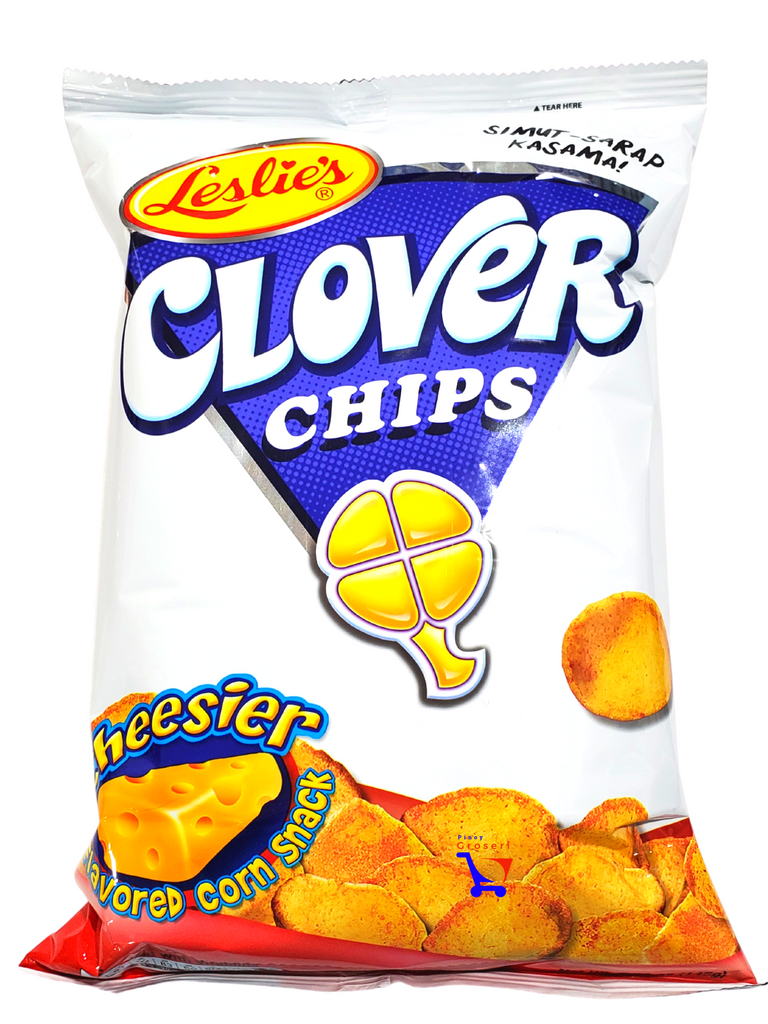 Leslie Clover Chips CHEESIER 5.47oz (145g)
