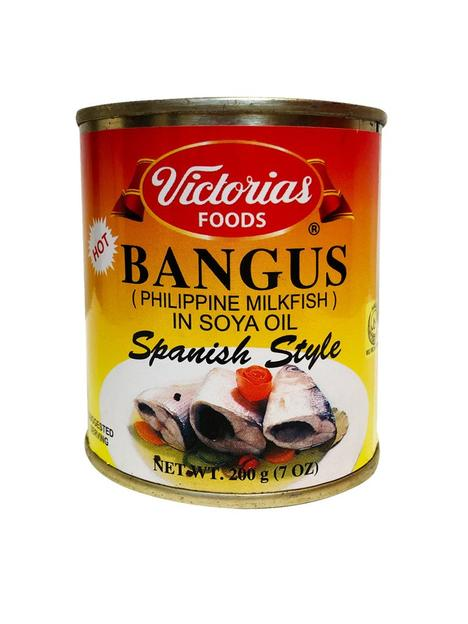Victoria's BANGUS in Soya Oil Spanish Style Hot 7oz (200g)