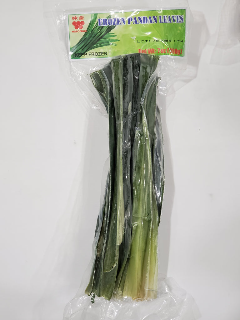 Wei-Chuan Frozen Pandan Leaves 200g